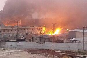 انفجار در شمال غرب سوریه - کراپشده