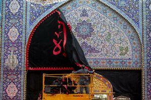 برچیده شدن رخت عزا از حرم حضرت عباس(ع)
