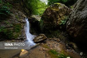 آبشارهای زیبای فاضلآباد در گلستان
