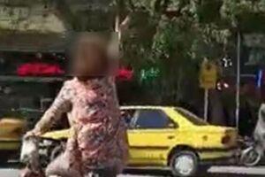 زن قانونشکن در نجفآباد دستگیر شد