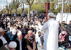 الشرق الاوسط: سخنان مکرون به خاطر رشد روز افزون مسلمانان است
