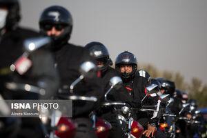 عکس/ مسابقه موتورسواری به مناسبت هفته ناجا