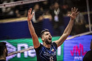 پیاچنزا مشتری ستاره والیبال ایران