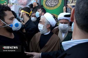 عکس/ حضور حجت الاسلام صدیقی در تشییع شهید امر به معروف