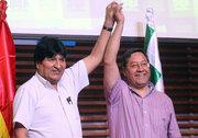 بازگشت قهرمانانهی مرد محبوبِ بولیوی/ مورالس پیروز واقعی انتخابات ریاستجمهوری کشورش است +عکس و فیلم