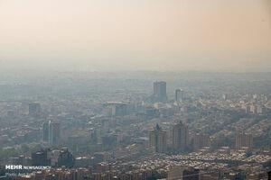آلودگی هوا طی شبانه روز گذشته در تهران