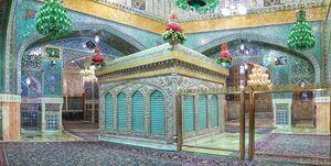 ضریح امام رضا (ع) با نورپردازی جدید +عکس