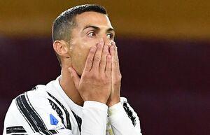 رونالدو دیدار برابر بارسلونا را از دست داد