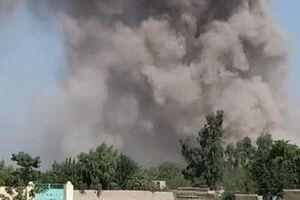 خمپارهباران کابل هنگام نماز عید قربان +فیلم