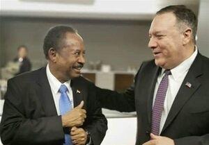 گفتگوی تلفنی پامپئو با نخستوزیر سودان
