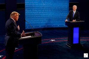 """فیلم/ """"دروغ""""؛ خلاصه مناظره آخر ترامپ و بایدن"""