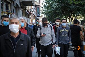 عکس/ روزهای کرونایی بازار تهران