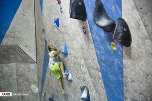 عکس/ اردوی انتخابی المپیک سنگنوردی