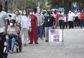 چند میلیون آمریکایی در انتخابات شرکت کردند؟