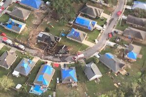 ۲ کشته در سقوط هواپیمای نیروی دریایی آمریکا +عکس