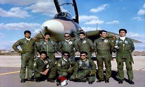 گزارش اداره ضد اطلاعات از بیعت تاریخی نیروی هوایی