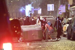 عکس/ آشوب در ایتالیا در اعتراض به قوانین قرنطینه