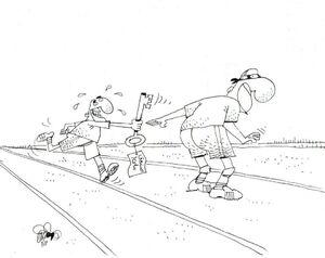 کاریکاتور/ گوشت را به گربه سپردن!