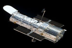 تلسکوپ فضایی هابل «آبشار کهکشانی» را ثبت کرد