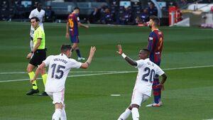 فیلم/ خلاصه دیدار بارسلونا ۱ - رئال مادرید ۳