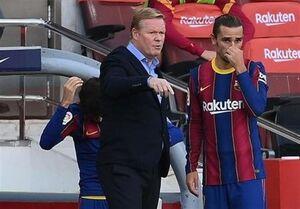 کومان: نمیدانم چرا VAR فقط علیه بارسلونا قضاوت میکند