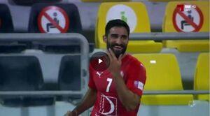 فیلم/گلزنی مهرداد محمدی در دیدار مقابل امصلال