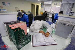 عکس/ کادر درمان خسته اما پایدار