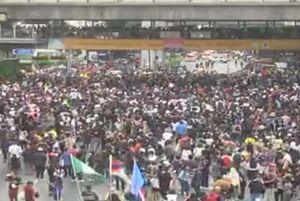 فیلم/ تظاهرات ضد دولتی در بانکوک