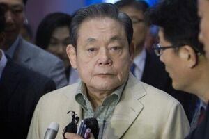 رئیس شرکت سامسونگ درگذشت - کراپشده