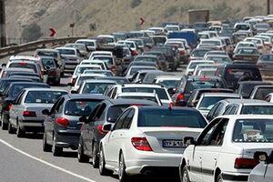 ترافیک «سنگین» در چالوس و هراز