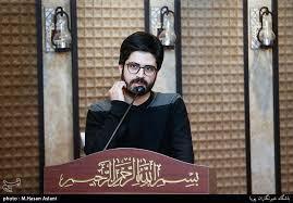 فیلم/شعرخوانی محمد رسولی در شب شهادت امام حسن عسکری (ع)
