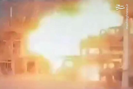 فیلم/ لحظه انفجار در واحد آروماتیک پتروشیمی بندر امام
