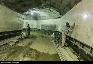 عکس/ ساخت خط ۷ متروی تهران توسط قرارگاه خاتم
