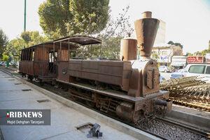 عکس/ اولین قطار در تهران قدیم