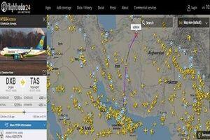پروازهای عبوری از آسمان ایران ۱۹ درصد رشد کرد