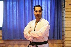 سرمربی ایرانی تیم ملی کاراته روسیه واکسن کرونا زد