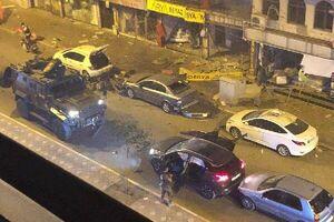 """انفجار و درگیری خیابانی در شهر """"هاتای"""" ترکیه +فیلم"""