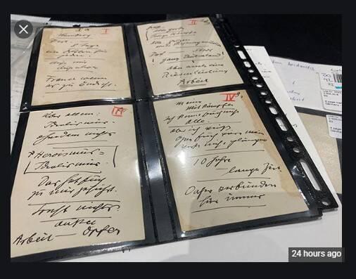 2958613 - حراج دست نوشته های هیتلر در مونیخ