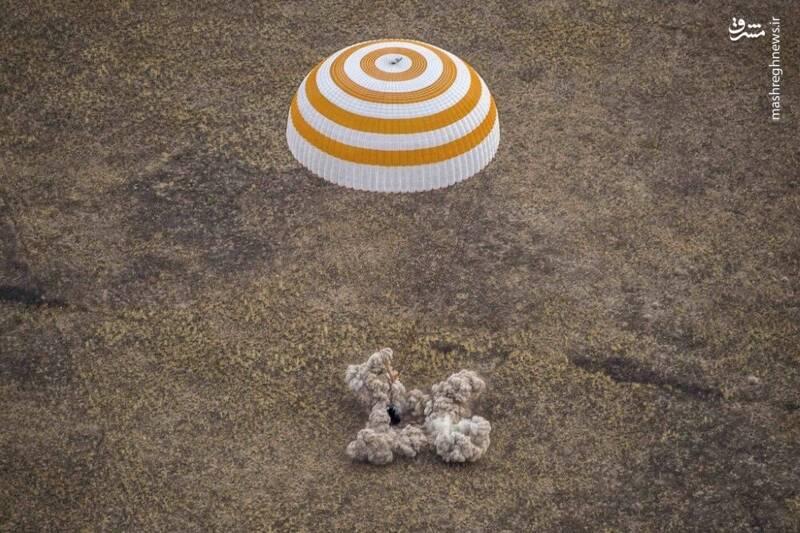 2958722 - عکس/ بازگشت فضانوردان به زمین