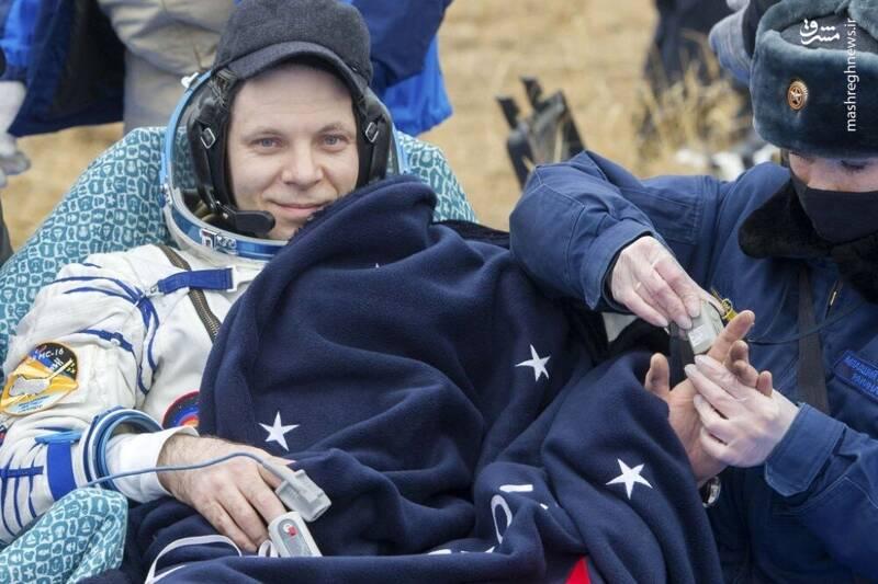 2958723 - عکس/ بازگشت فضانوردان به زمین