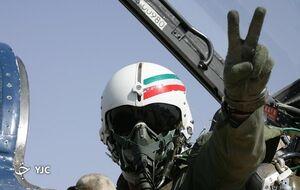 نمایش مهارت حیرتانگیز خلبان ایرانی +فیلم