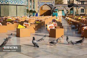 عکس/ کمکهای مومنانه در امامزاده صالح(ع)