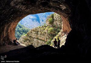 عکس/ غار باستانی دربند رشی در قلب گیلان