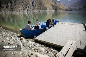 عکس/ روستایی که با قایق باید به آن سفر کنید
