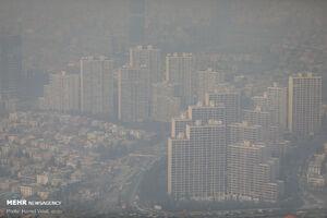 هوای پایتخت آلوده است