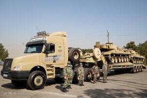 عکس/ رونمایی از تجهیزات لجستیکی باز تولید ارتش