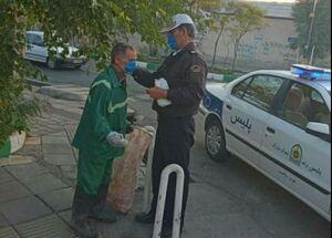 عکس/ اقدام زیبای پلیس تهرانی