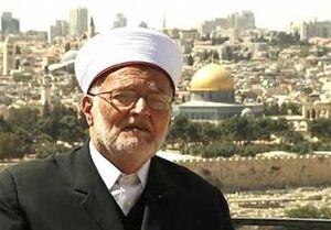 درخواست خطیب مسجد الاقصی برای برگزاری تظاهرات «جمعه خشم» در دفاع از رسول اکرم (ص)