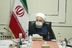 عکس/ جلسه روسای کمیتههای تخصصی کرونا با حضور روحانی