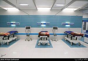 عکس/ افتتاح بخشهای جدید بیمارستان نزاجا